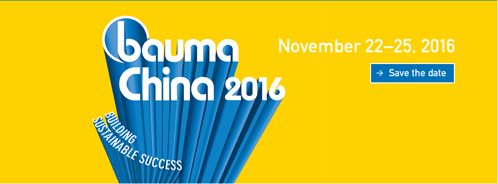 Baoma China 2016 Nov.22~Nov.25.2016